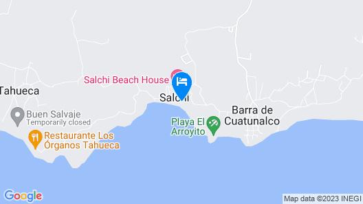 Manta Raya Hotel Map