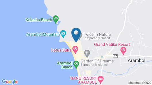 The Noname Guesthouse Map