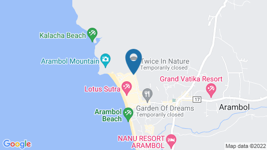 Rudra Holidays Guest House Map