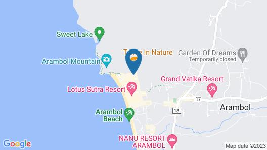 OYO 63062 Arambol Ocean Map