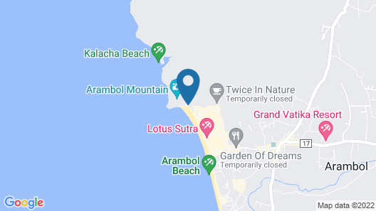 Spot ON 63969 Arambol Residensea Map