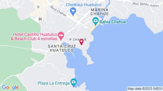 Villa Hinz Pta Santa Cruz by LATAM Vacation Rentals Map