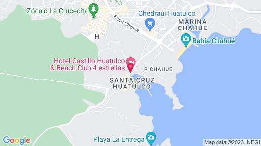Holiday Inn Huatulco Map