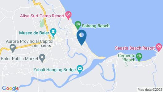 La Patricia de Baler Map