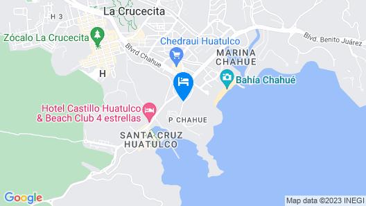Princess Mayev Hotel Map