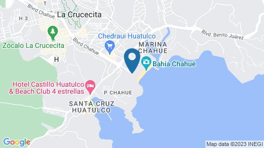 Quinta Bella Huatulco Map