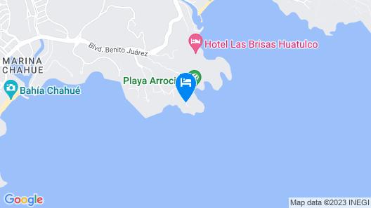 Villas & Resort Luz de Luna Map