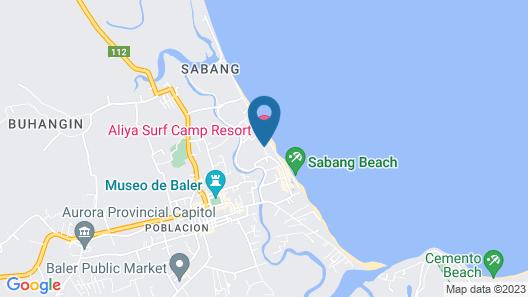 AMCO Beach Resort, Lodging, Restaurant & Recreational Center Map