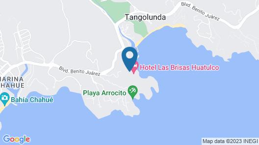 Las Brisas Huatulco Map