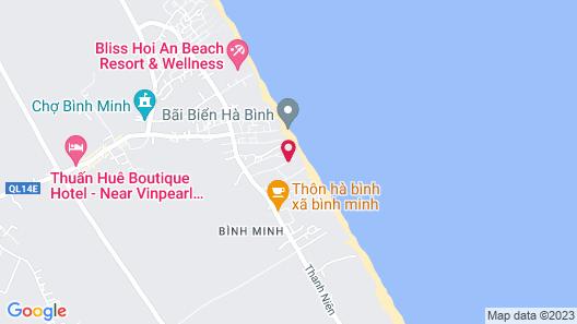 Vinpearl Resort & Golf Nam Hoi An Map