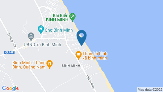 Vinpearl Resort & Golf Nam Hoi An Map