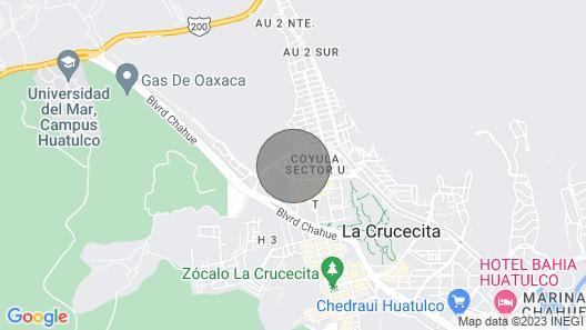 Casa Betanzos IN Bahías DE Huatulco, Oaxaca, Mexico Map