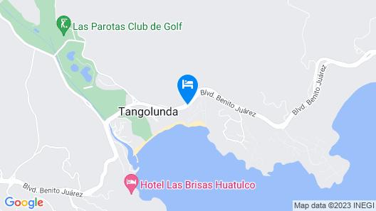 Camino Real Zaashila Map