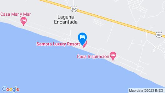 Samora Luxury Resort Map
