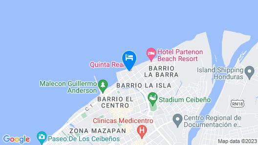 Hotel Quinta Real Map