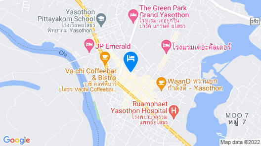 B.M. Grand Hotel Map