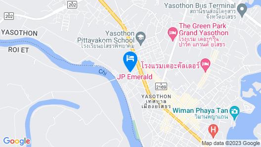 J.P. Emerald Hotel Map