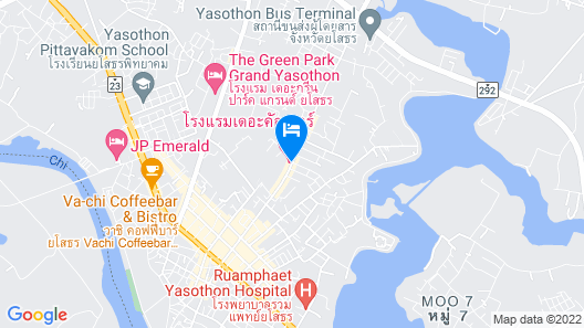 The Colour Hotel Map
