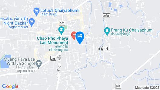 Siam River Resort Map