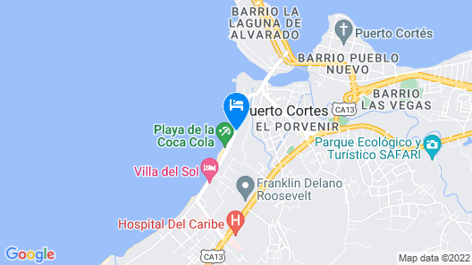 Hotel Costa Azul County Beach Map