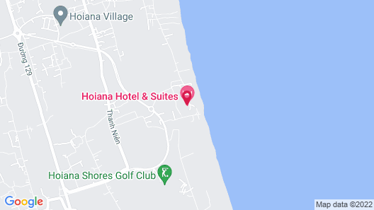 Hoiana Hotel & Suites Map
