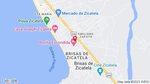 Villa Paraiso & Suites by LATAM Vacation Rentals Map