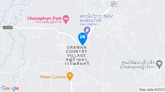 Phusuay Park View Hotel Map
