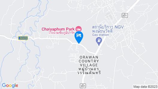 Chaiyaphum Park Hotel Map