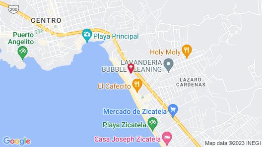 Hotel Arcoiris Map