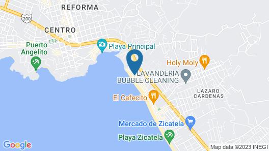 Selina Puerto Escondido Map