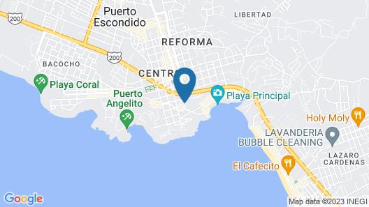 Hotel Paraiso Escondido Map