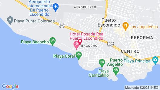 Hotel Suites Villasol Map