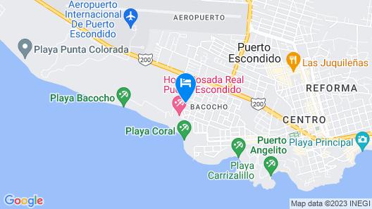 Casa Bvella Great Small Hotel Boutique Map