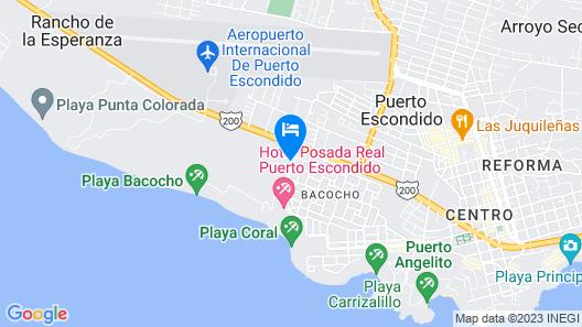 Hotel Aldea del Bazar Map