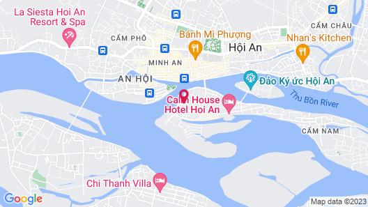 Bonsai Villa Hoi An Map