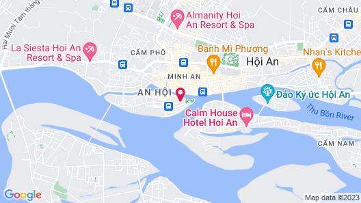 A Tran Boutique Hotel Map