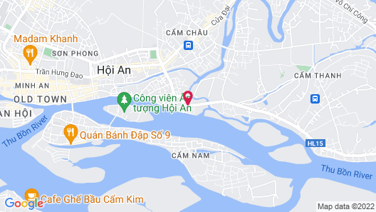 Shining Riverside Hotel and Spa Map