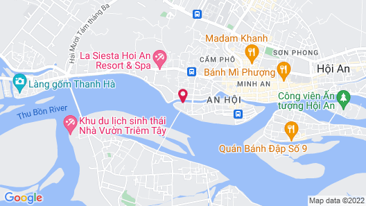 Ann Retreat Resort & Spa Map