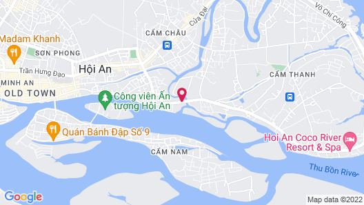 Hoi An River Palm Hotel Map