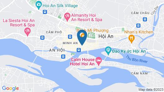 Pho Hoi 1 Hotel Map