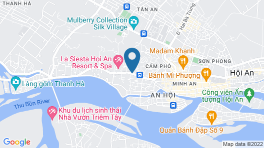 Hoi An Central Boutique Hotel & Spa Map
