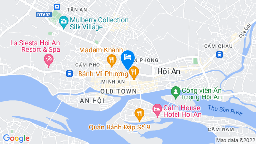 Hoi An Historic Hotel Managed By Melia Hotels International Map