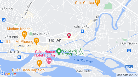 Hoi An Ancient House Resort And Spa Map