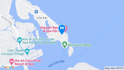 Vinpearl Resort & Spa Hoi An Map