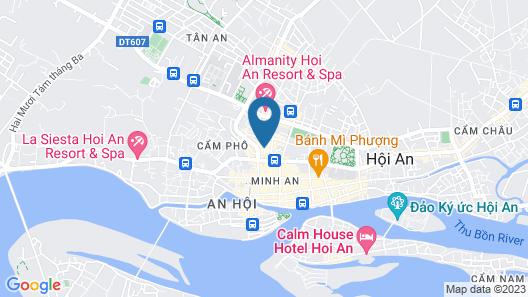 Tam Hong Phuc Homestay Hoi An Map