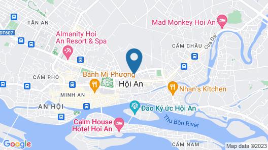 ZEN Boutique Villa Hoi An Map