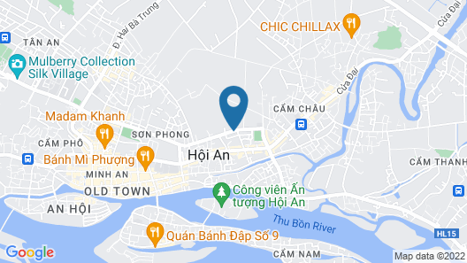 Lasenta Boutique Hotel Hoian Map