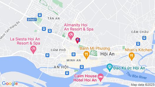 ÊMM Hotel Hoi An Map