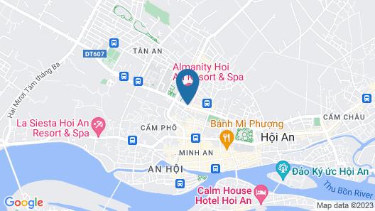 Almanity Hoi An Wellness Resort Map