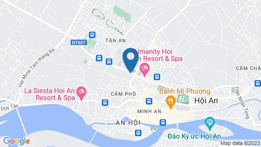 Bach Dang Hoi An Hotel Map